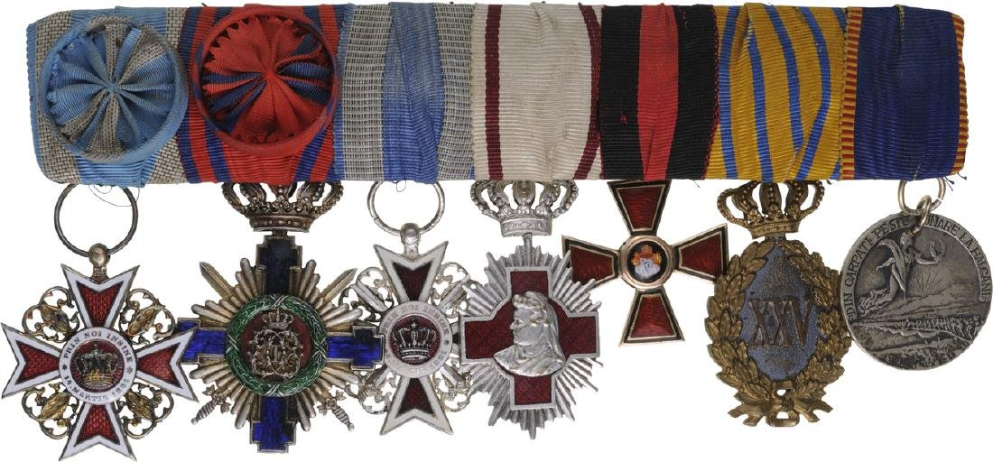 Group of Orders (4) and Medals (3)