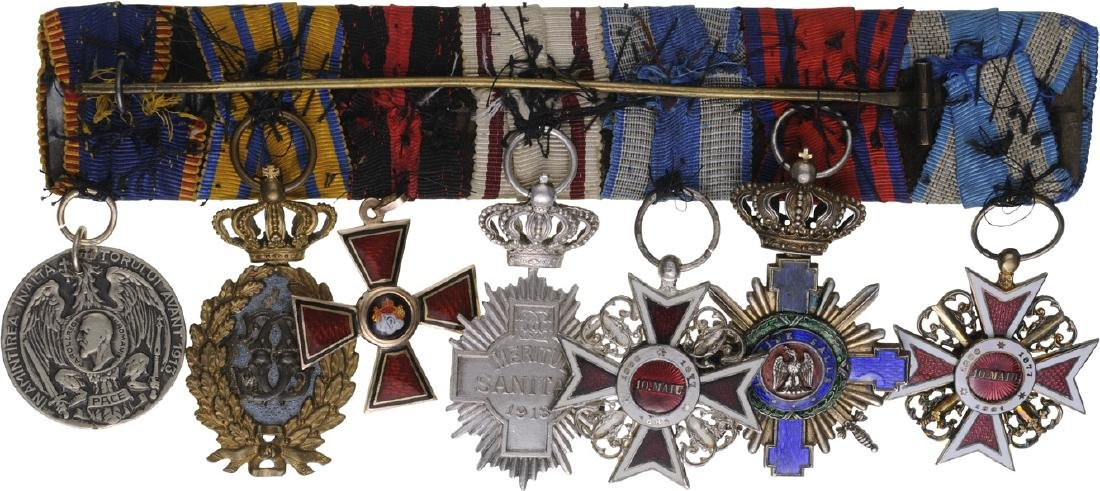 Group of Orders (4) and Medals (3) - 2