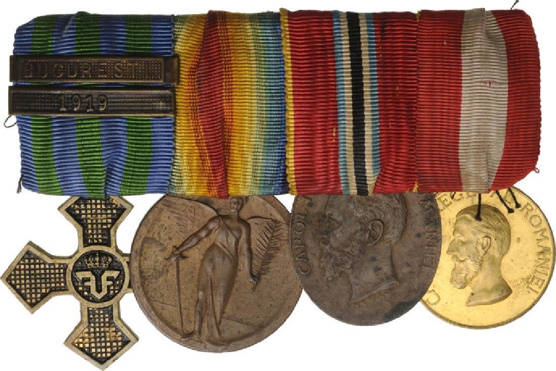 Bar of 4 Medals