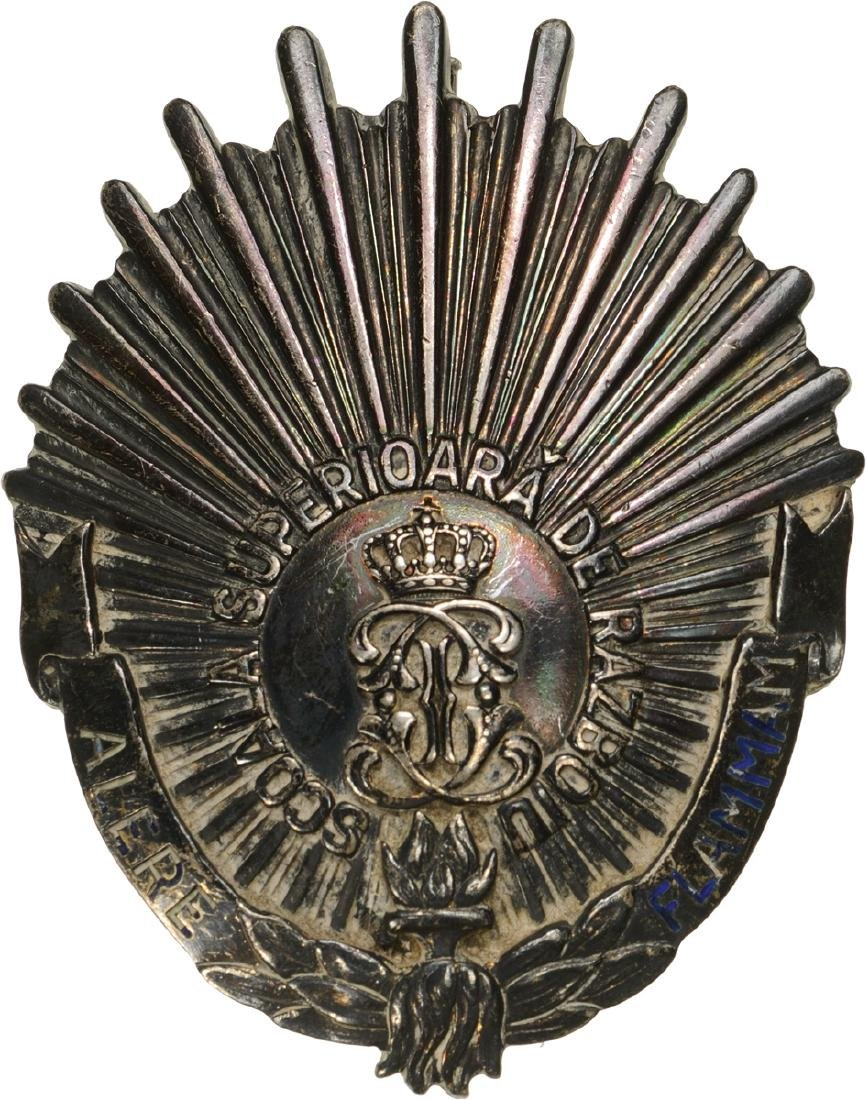 "REGIMENTAL BADGE ""7 YEARS BAGDE OF THE HIGHER WAR"