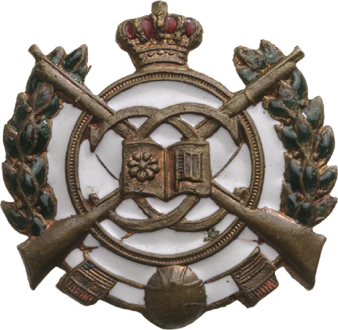 Premilitary Training Badge, King Carol II Model