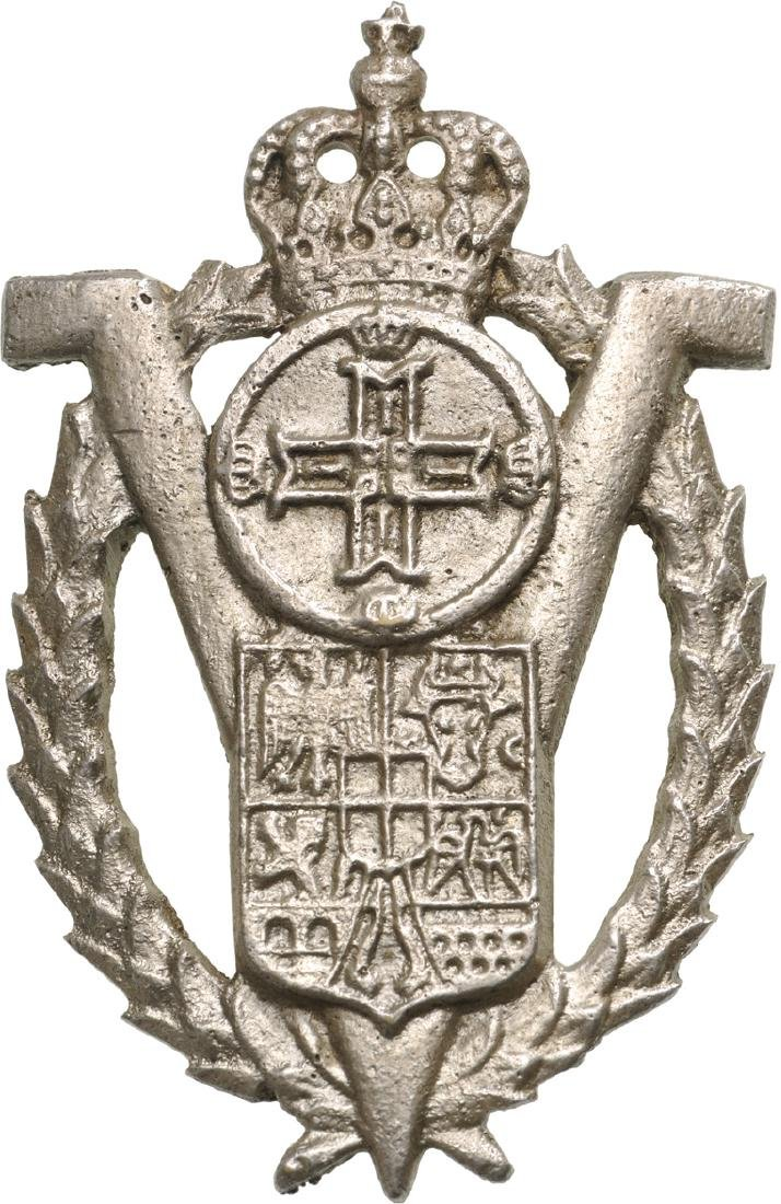 """Volunteers"" Badge from ""King Carol II"" Model - 3"