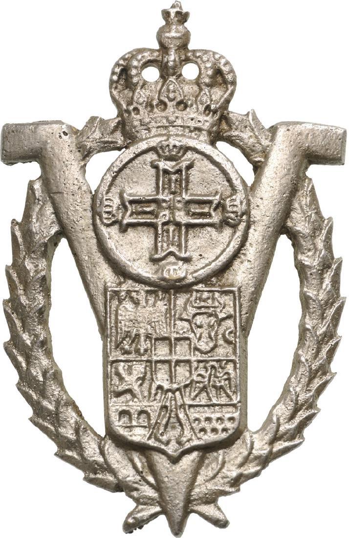 """""""Volunteers"""" Badge from """"King Carol II"""" Model - 3"""