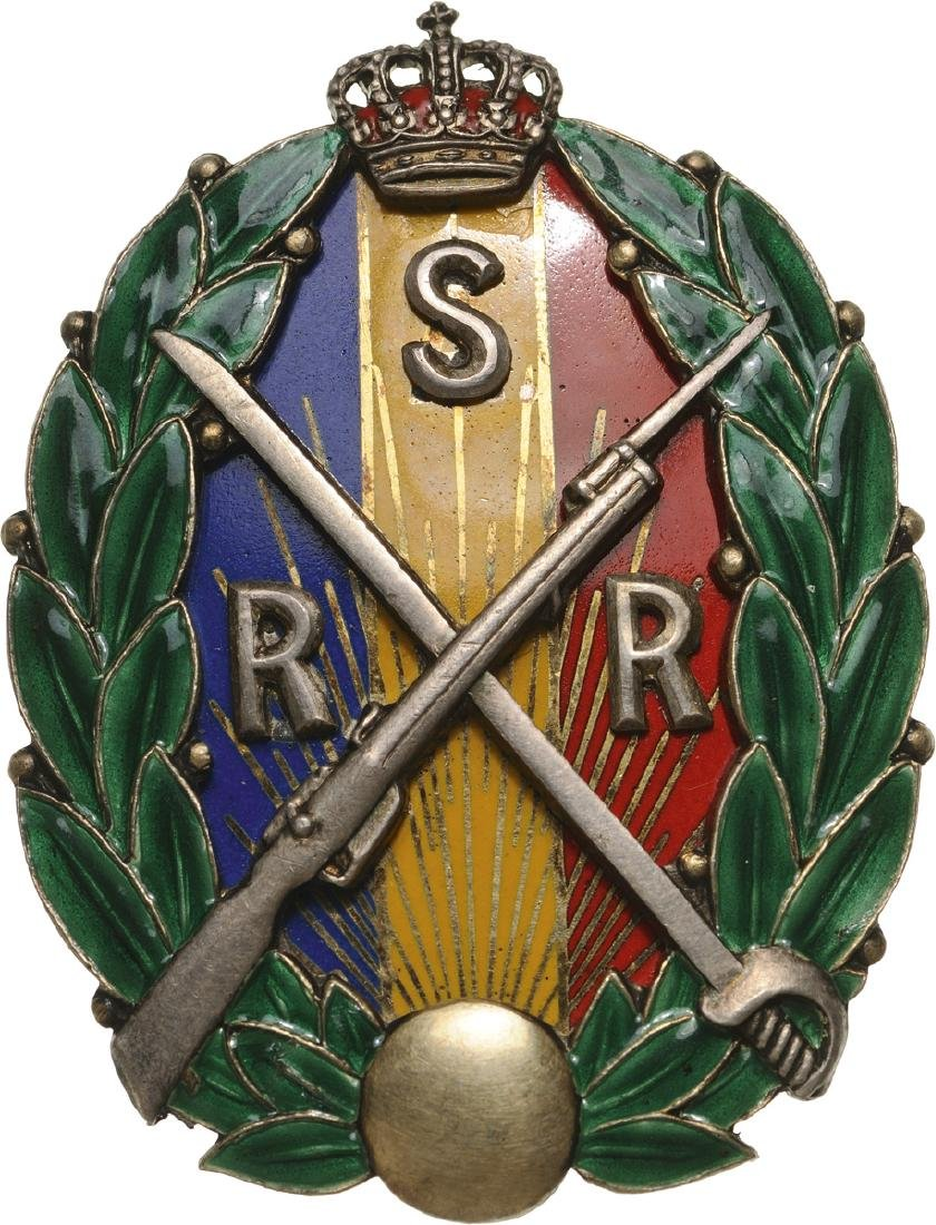 "BADGE OF THE ""RESERVE AND RETIRED PETTY OFFICERS"" MODEL"