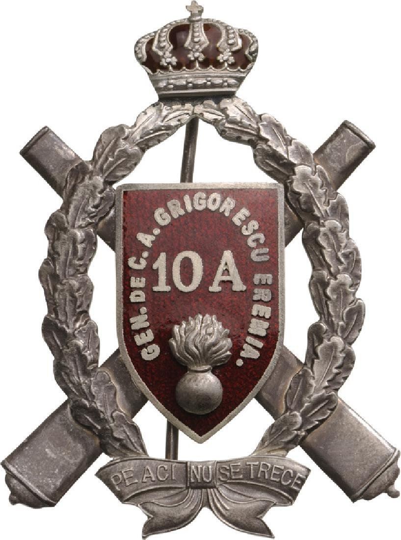 "Regimental Badge ""10th Artillery Regiment"", General"