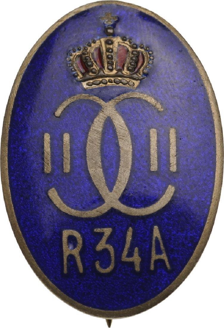 "Regimental Badge ""34th Artillery Regiment"""