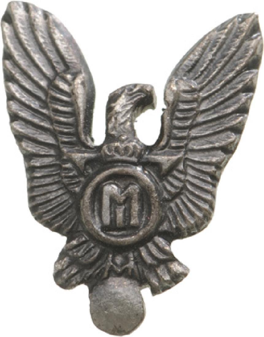Pilot Badge Miniature, King Mihai I Model, Regency
