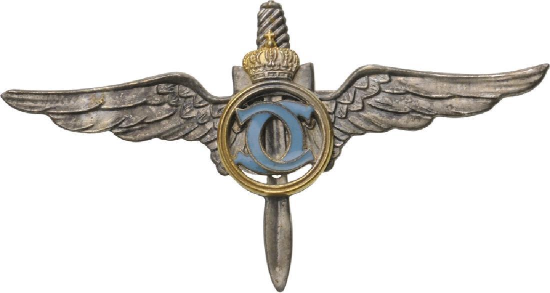 Military Pilot Badge, King Carol II Model, Regency