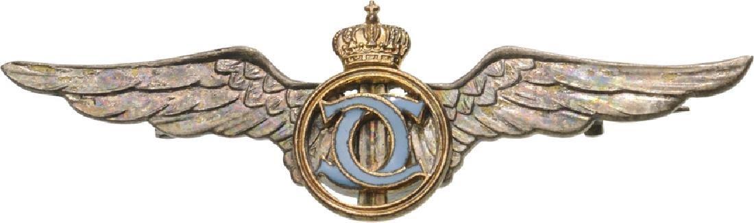 Pilot Badge for Graduates of the «Sport –