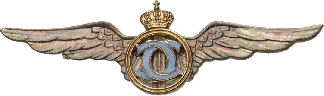 "Pilot Badge for Graduates of the ""Sport – Tourism"""