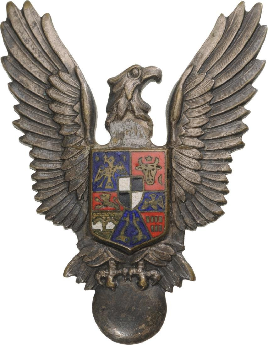 War Pilot Badge, King Mihai I Model, 1941-1947