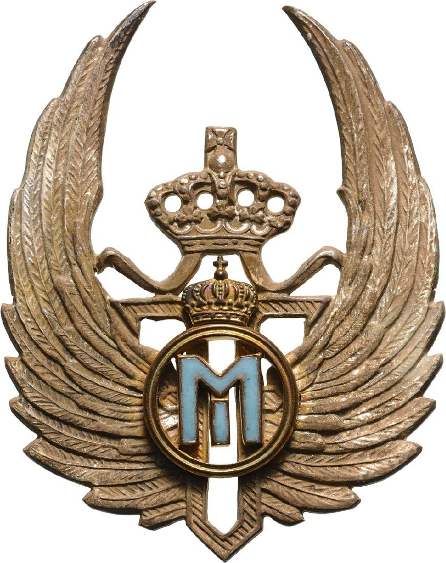 Observer Badge, King Mihai I Model, Regency 1927-1930