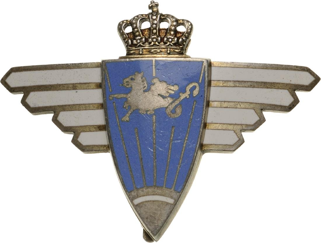 "REGIMENTAL BADGE ""1st AVIATION FLOTTILA (INTELLIGENCE)"""