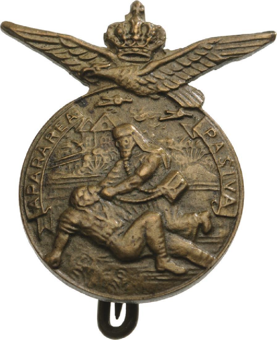 Civil Defence Badge (Apararea pasiva), Miniature