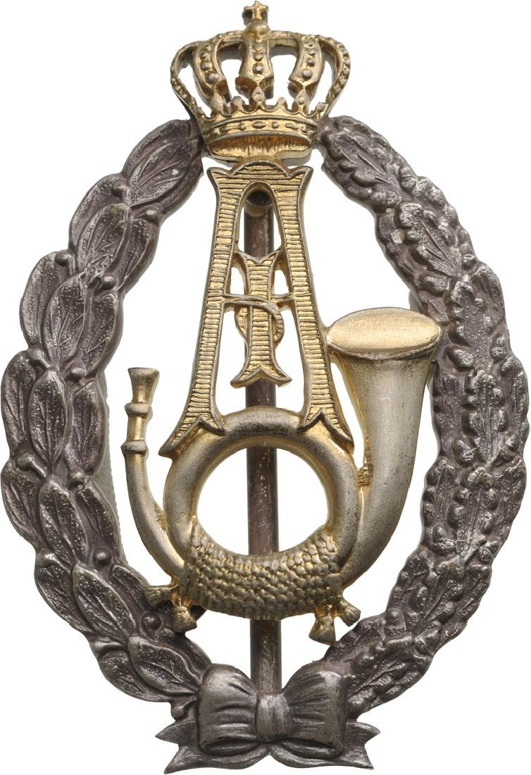 "Regimental Badge ""Guard Riflemen Regiment - King"