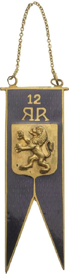 """Jeton of the """"12th Calarasi Elite Cavalry Regiment"""","""