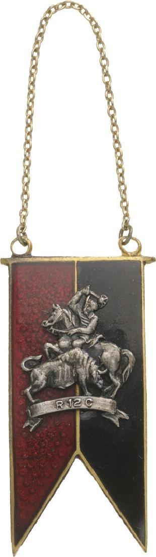 "Jeton of the ""12th Calarasi (Light Cavalry) Regiment"","