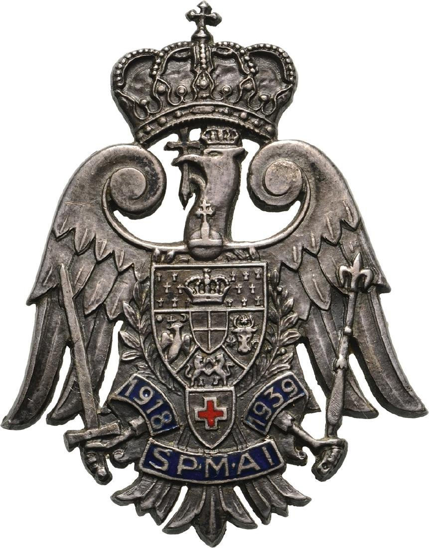 "REGIMENTAL BADGE ""ALBA IULIA MILITARY HOSPITAL"""