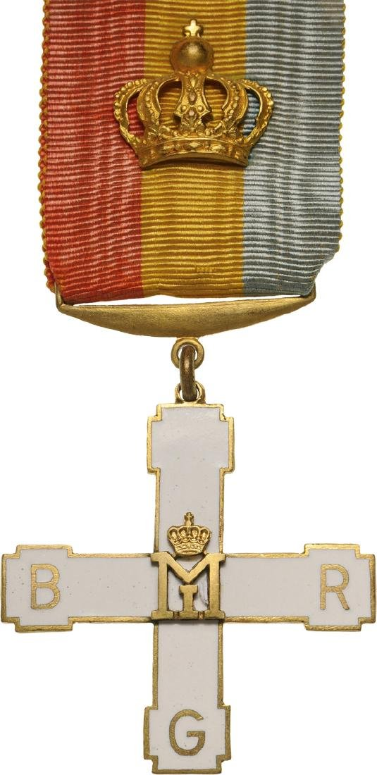 """IN MEMORY"" INSIGNIA OF THE ROYAL GUARD BATTALION"