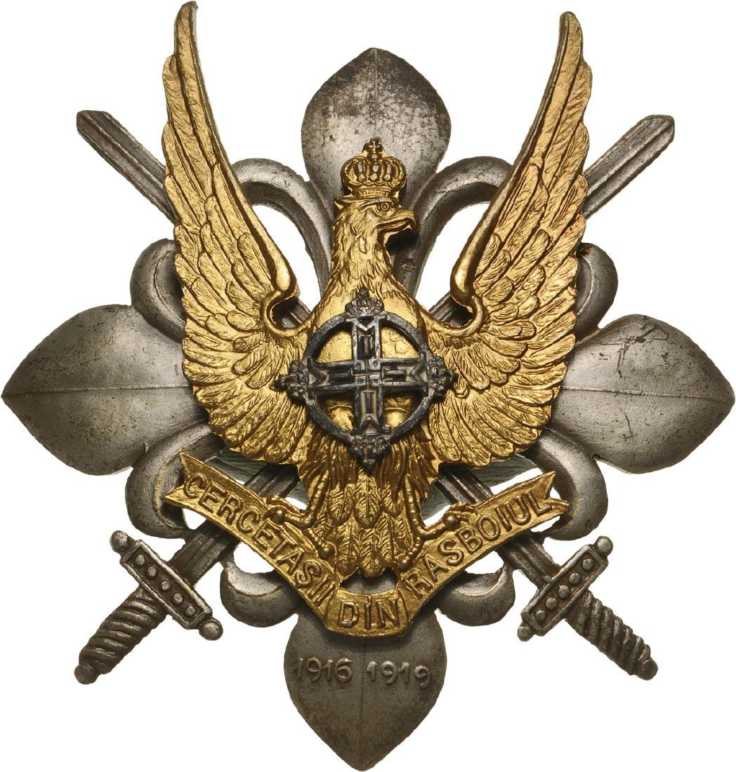 WAR BADGE OF THE SCOUTS, 1947 MODEL