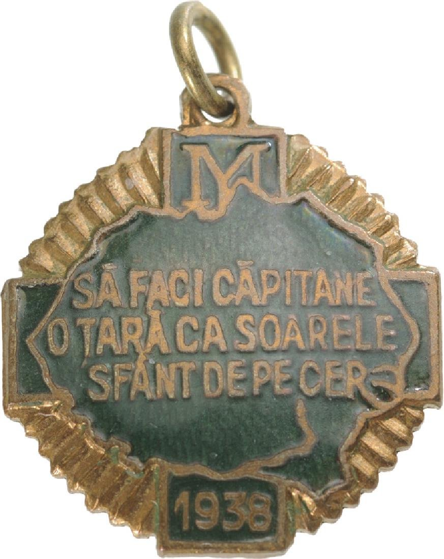 """Iron Guard"" Legionary Mouvement Badge, ""Sa faci"