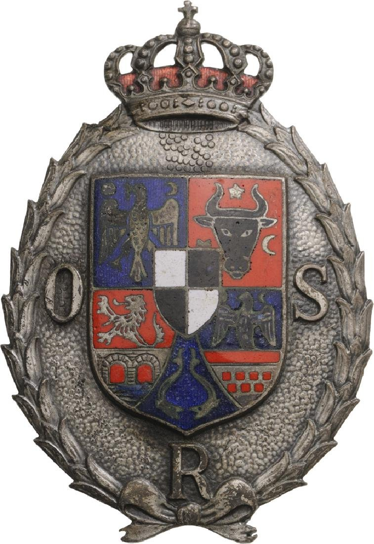 "Badge of the ""Romanian Sports Organization"", 2nd Class"