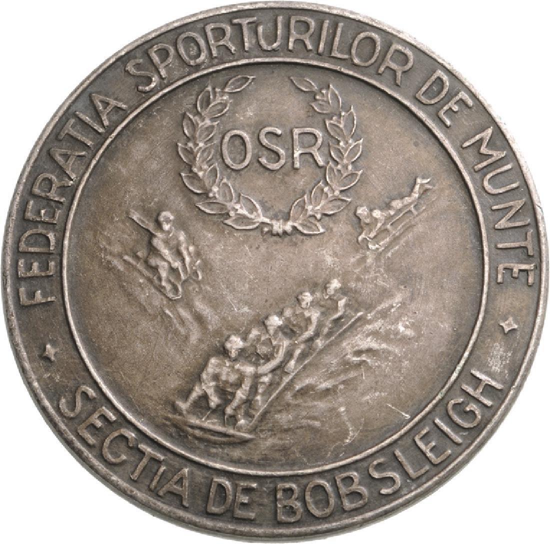 """Romanian Sports Organization"" (OSR) Badge,"