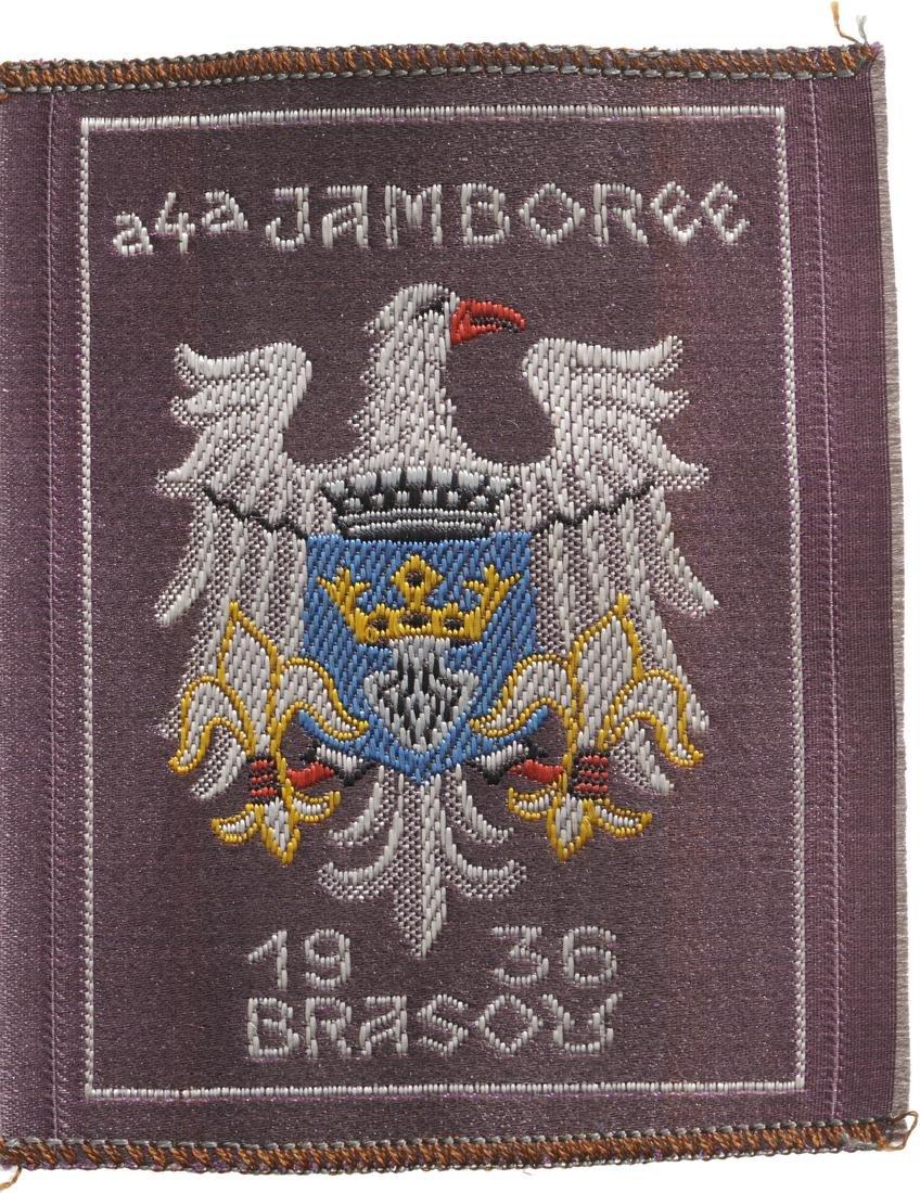 Cloth Badge of the Brasov Jamboree, 1936