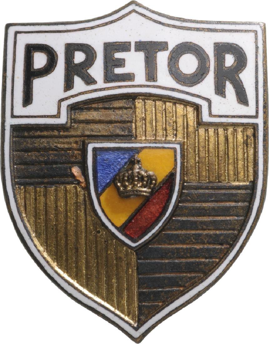 Praetor Badge, after 1930