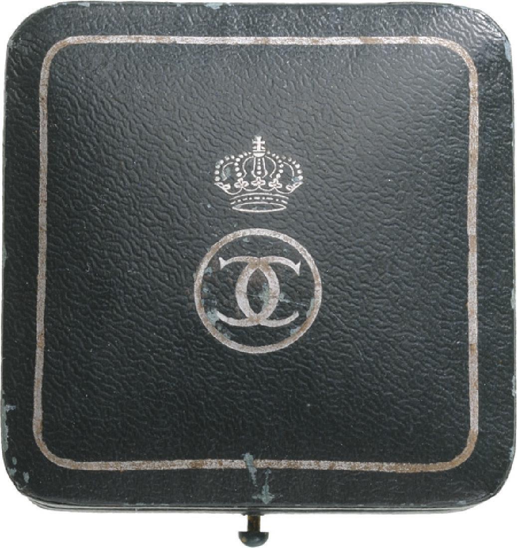 """Royal Hunting Club"" Badge, King Carol II, 1930-1940 - 2"