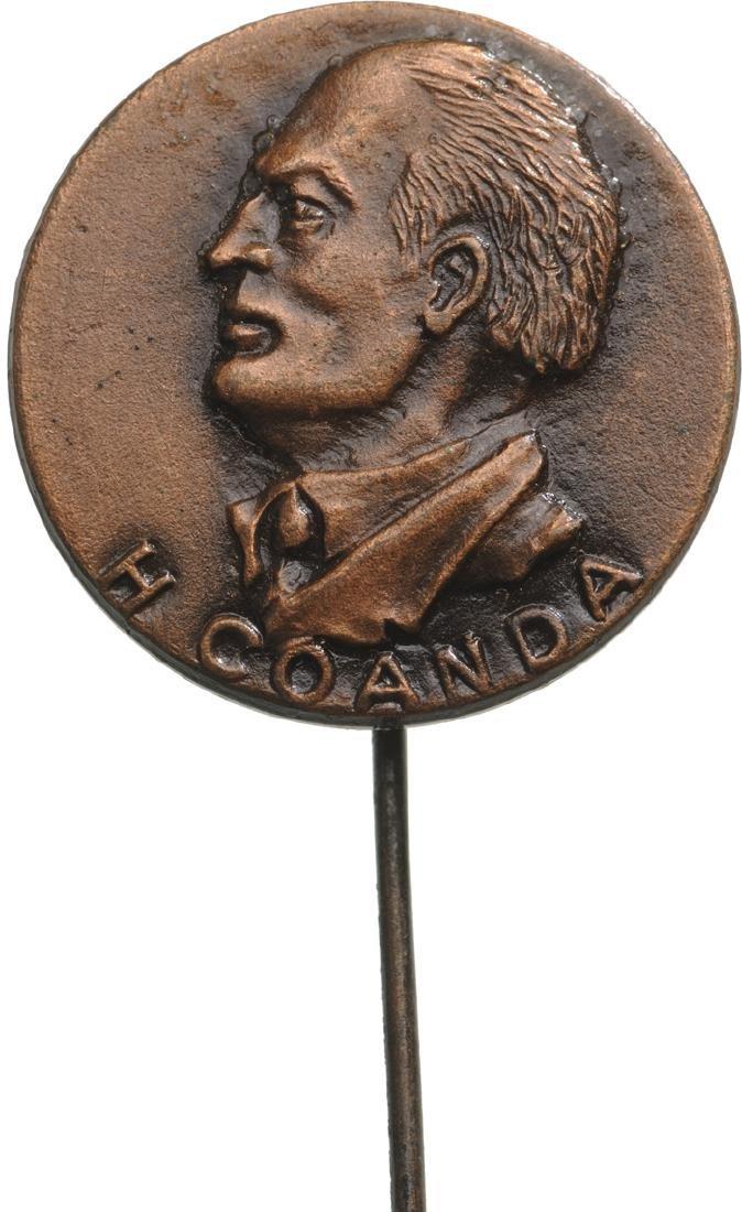 Henri Coanda Pin