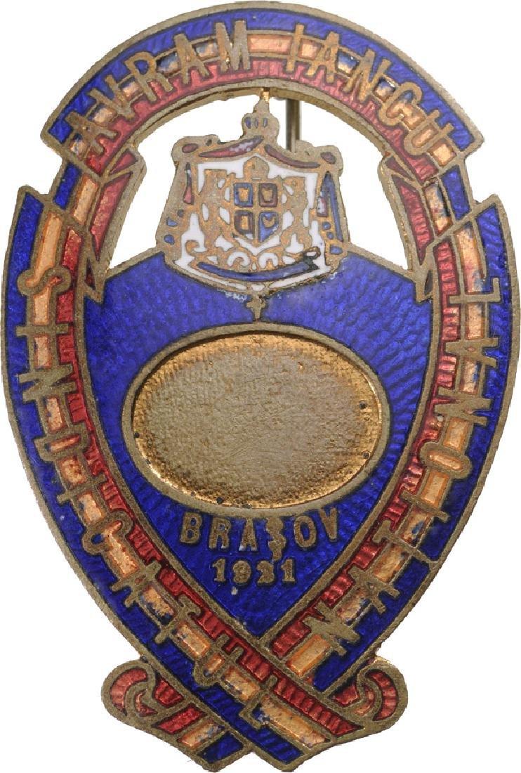Avram Iancu Syndicate Badge, 1921