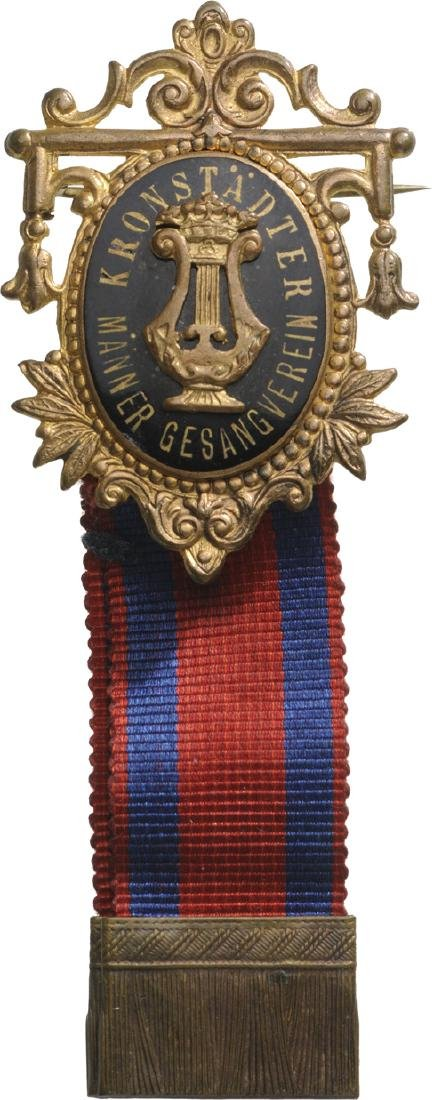 Kronstadt Men Music Association Badge