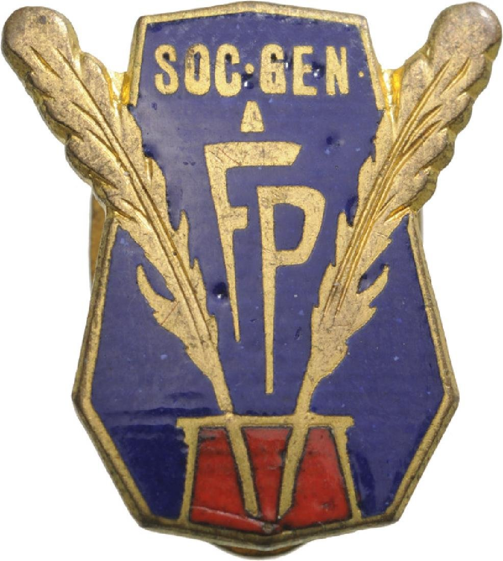 Public Employee's Society Badge
