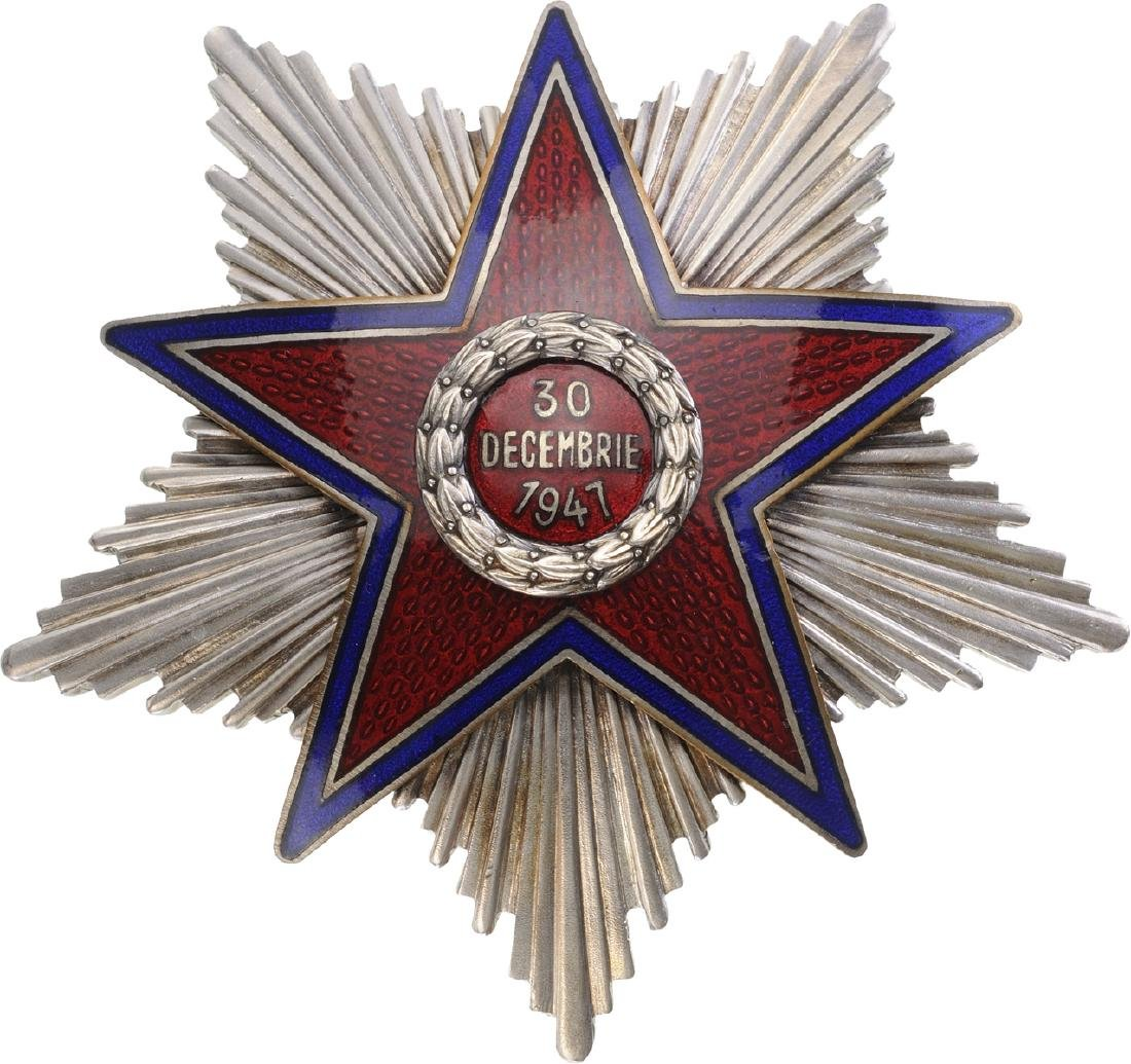 RPR - ORDER OF THE STAR OF ROMANIA, instituted in 1948 - 10