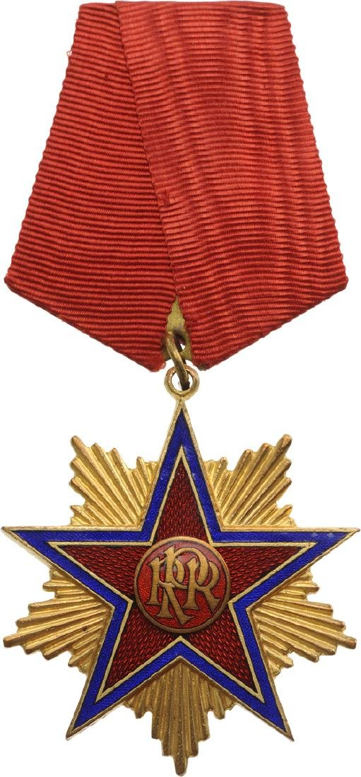 RPR - ORDER OF THE STAR OF ROMANIA, instituted in 1948 - 2