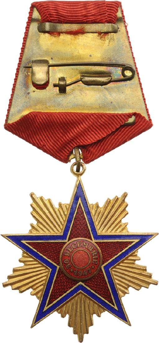 RPR - ORDER OF THE STAR OF ROMANIA, instituted in 1948 - 3