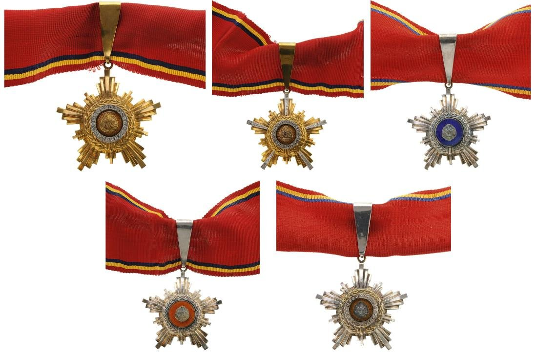 RSR - ORDER OF THE STAR OF ROMANIA, 1947-1965