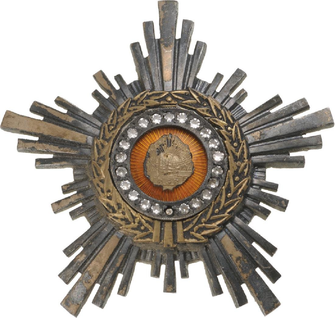 RSR - ORDER OF THE STAR OF ROMANIA, instituted in 1948