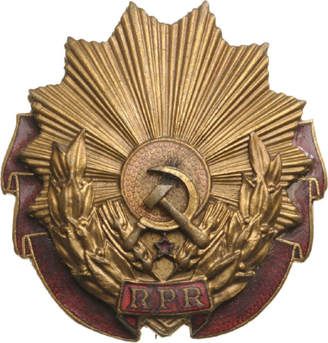 RPR - ORDER OF LABOUR, 1948-1965