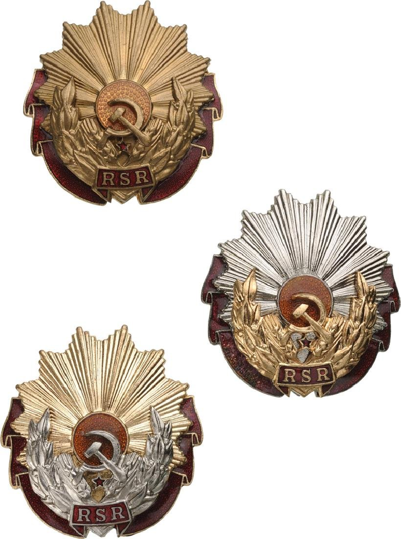 RSR - ORDER OF LABOUR, instituted in 1948