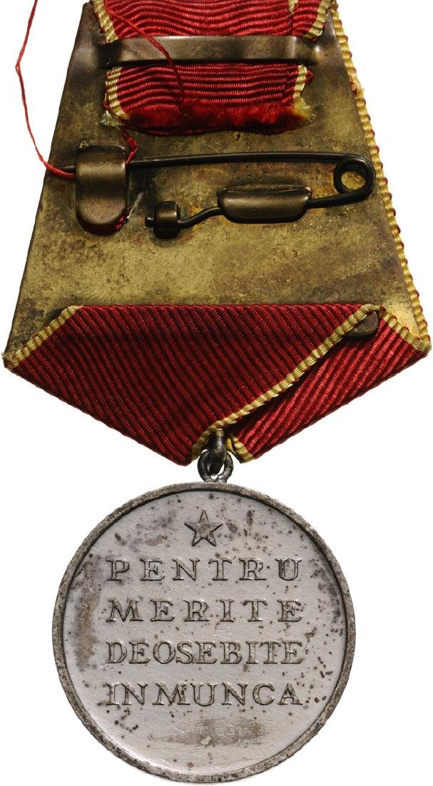 RSR - MEDAL OF LABOUR, instituted in 1948 - 2