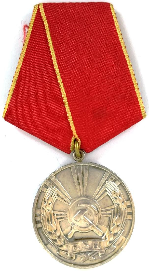 RSR - MEDAL OF LABOUR, instituted in 1948