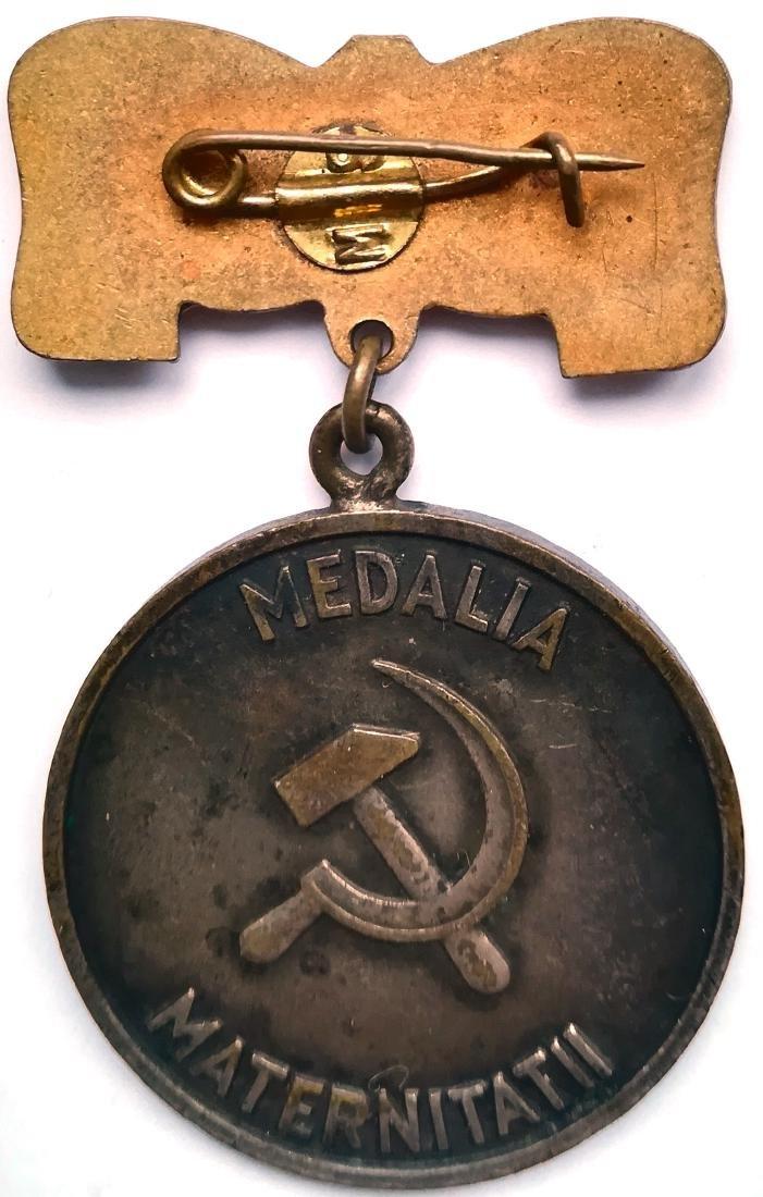 RPR - MOTHERHOOD MEDAL, instituted in 1951 - 2