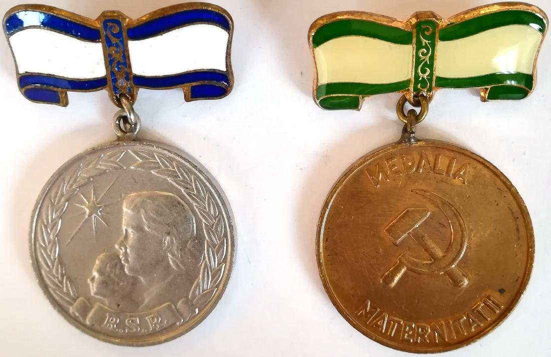 RSR - MOTHERHOOD MEDAL, instituted in 1951
