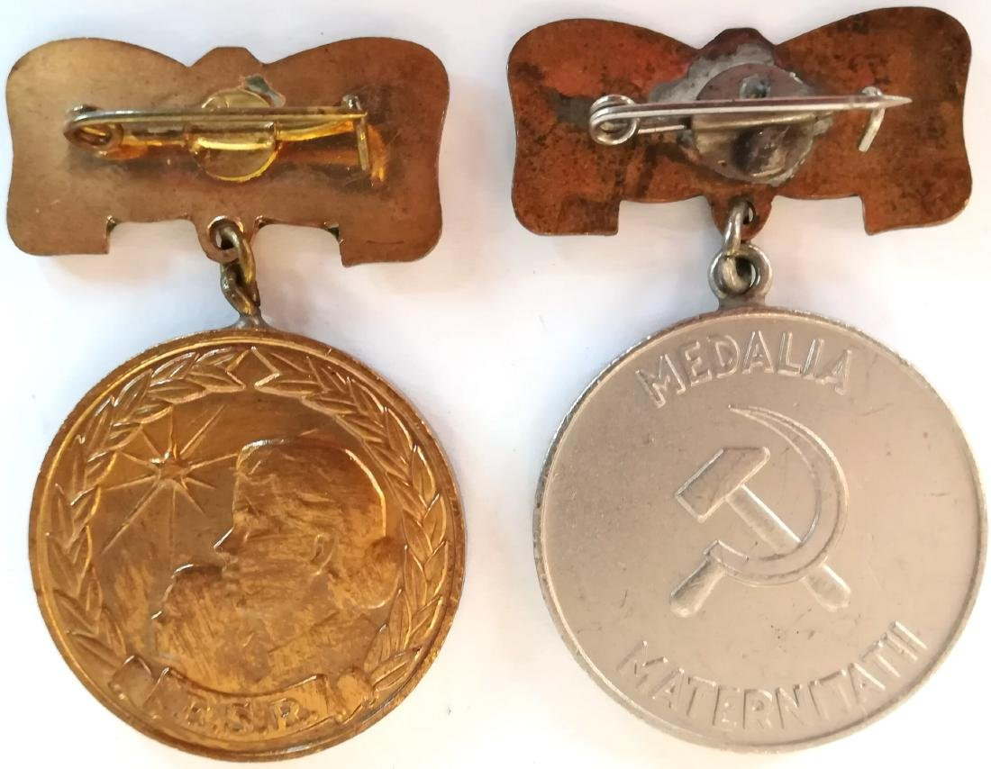 RSR - MOTHERHOOD MEDAL, instituted in 1951 - 2
