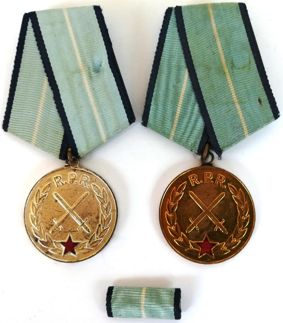 RPR- MEDAL FOR MILITARY MERIT, instituted in 1954