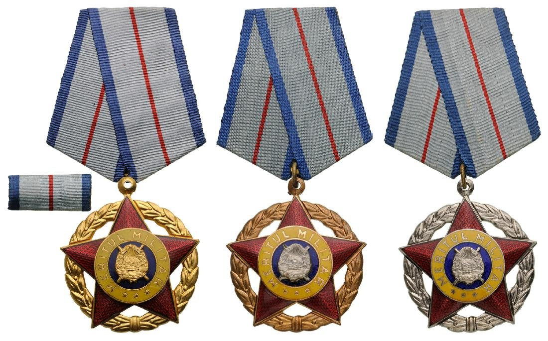 RSR - ORDER OF MILITARY MERIT, instituted in 1954