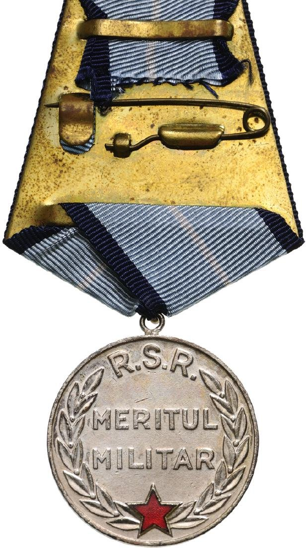 RSR - MEDAL OF MILITARY MERIT, instituted in 1953 - 2