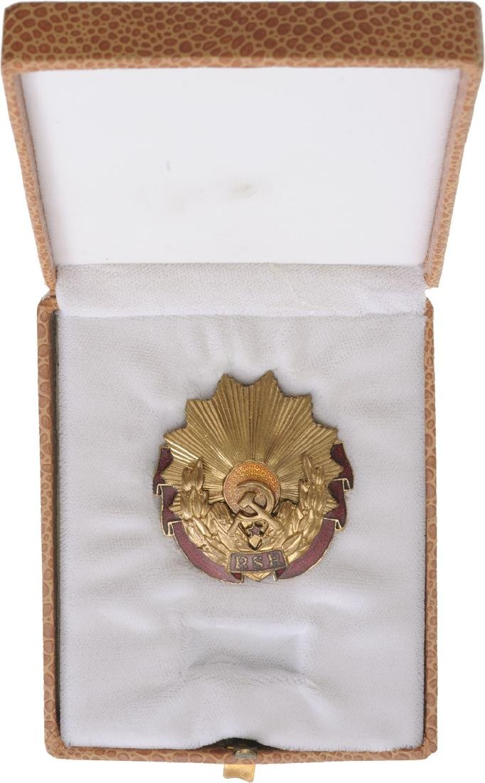 """RSR - ORDER """"23 AUGUST"""", instituted in 1959 - 3"""